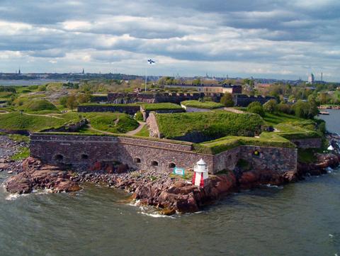 Хельсинки, крепость Суоменлинна (Свеаборг)
