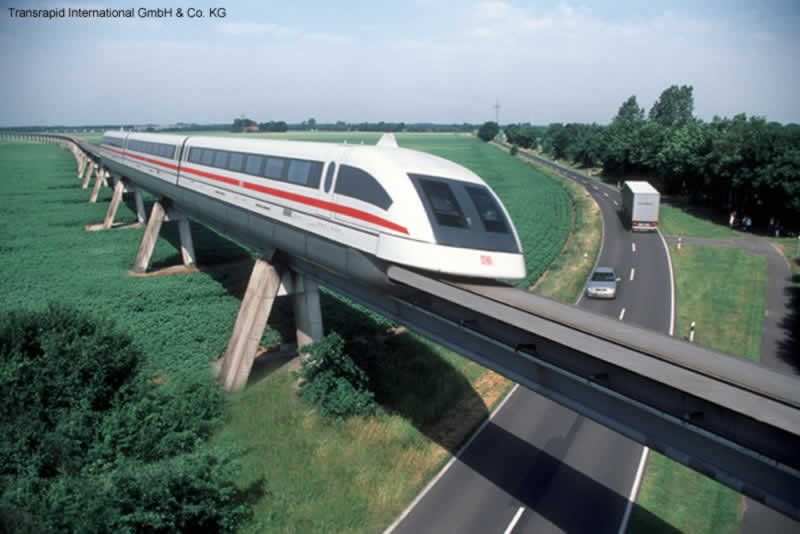 Скоростные поезда Maglev.jpg