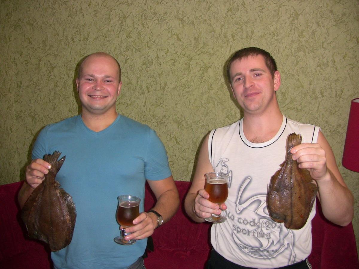 Повторюсь, архангельский ерш холодного копчения и местное пиво - это взрыв мозга