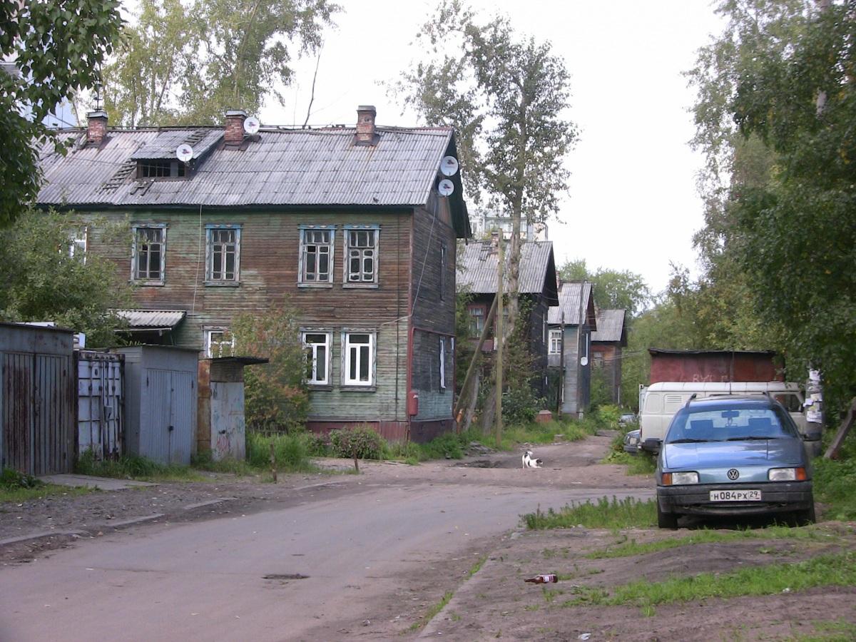 Многие проспекты Архангельска и в 2012 году 'сохраняют' полувековую самобытность :(