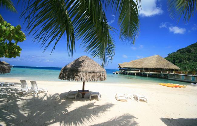 Te Tiare Beach Resort, Французская Полинезия.jpg