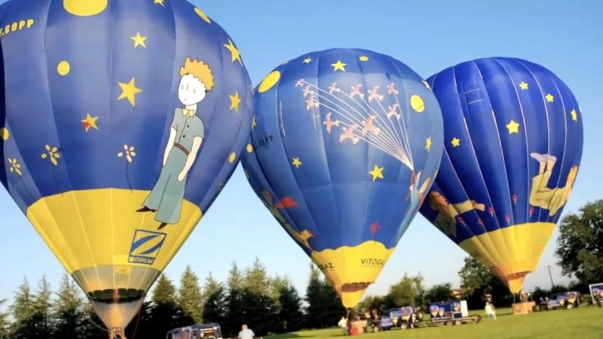 Полеты на воздушном шаре над пригородами Лиона