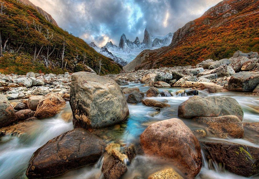 Горная река в Андах.jpg