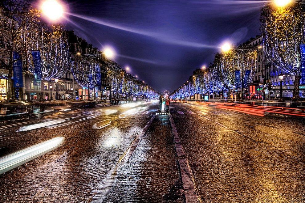 Город Любви – Париж. Елисейские поля.jpg