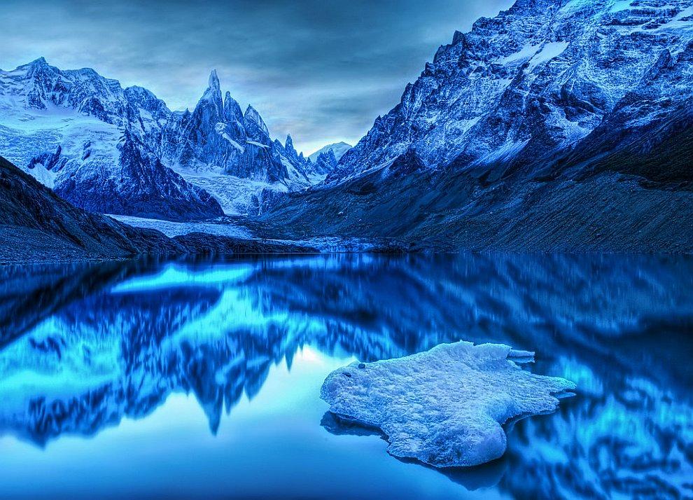 На границе между Аргентиной и Чили. Антарктический пейзаж.jpg