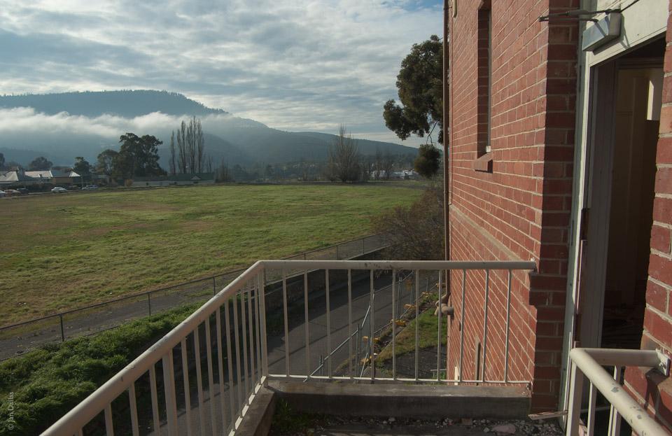 Вид из окна отеля Willow Court