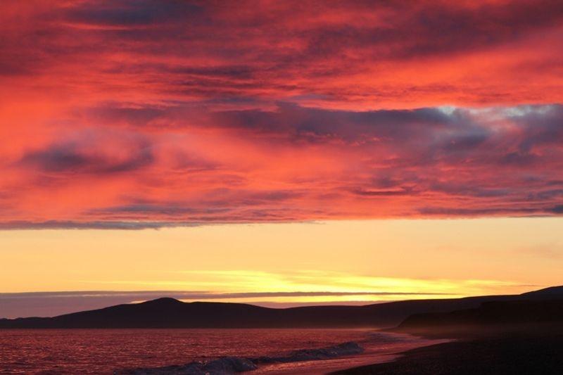 'Остров Врангеля', закат.jpg