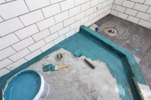 Ремонт — гидроизоляция ванных комнат и санузлов.