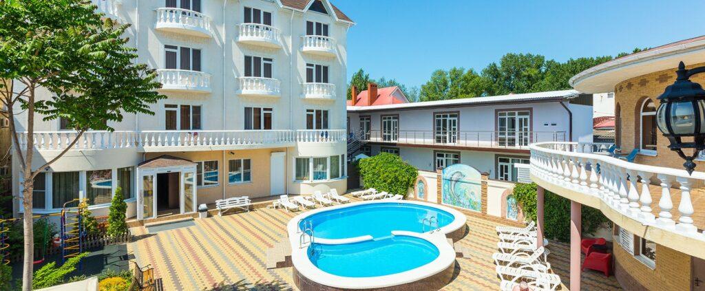 Отели Анапы «все включено» с бассейном